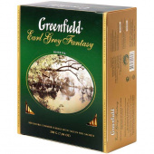 Чай Гринфилд (Greenfield) Earl Grey Fantasy 100 пак
