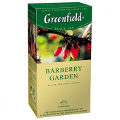 Чай Гринфилд (Greenfield)  Barberry Garden 25 пак из каталога Чай