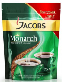Кофе Jacobs Monarch пакет 75 г.
