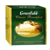Чай Гринфилд (Greenfield) Classic Breakfast 100 пак