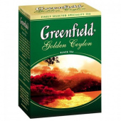 Чай Гринфилд (Greenfield) Golden Ceylon 100 г