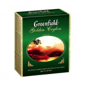 Чай Гринфилд (Greenfield) Golden Ceylon 100 пак