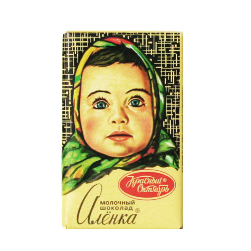 фото шоколадки аленка