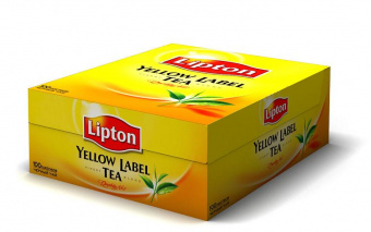Чай Липтон Lipton Yellow Label 100 пак